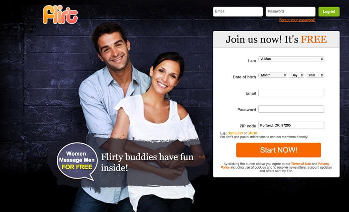 flirt sign up